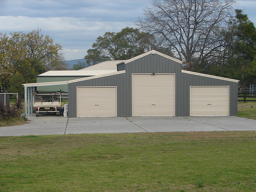 American barns gallery topline garages and sheds for Barns and garages