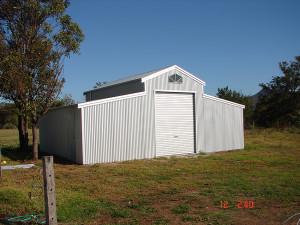 American Barn - Zincalume