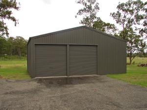 Double Garage - Woodland Grey 01