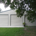 Triple Garage – Dune and Woodland Grey 01