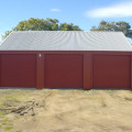 Triple Garage – Manor Red 01